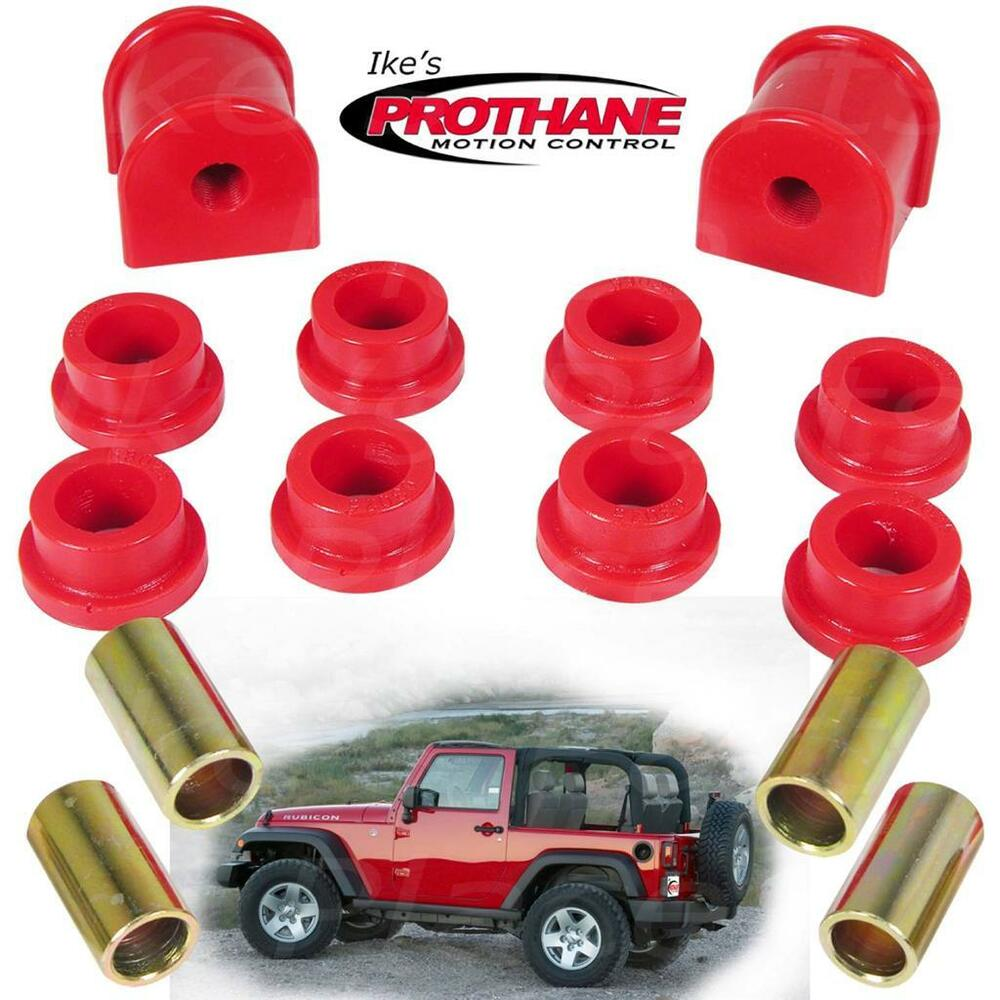 Prothane 1 1112 Rear 13mm Sway Bar Amp End Link Bushing Kit