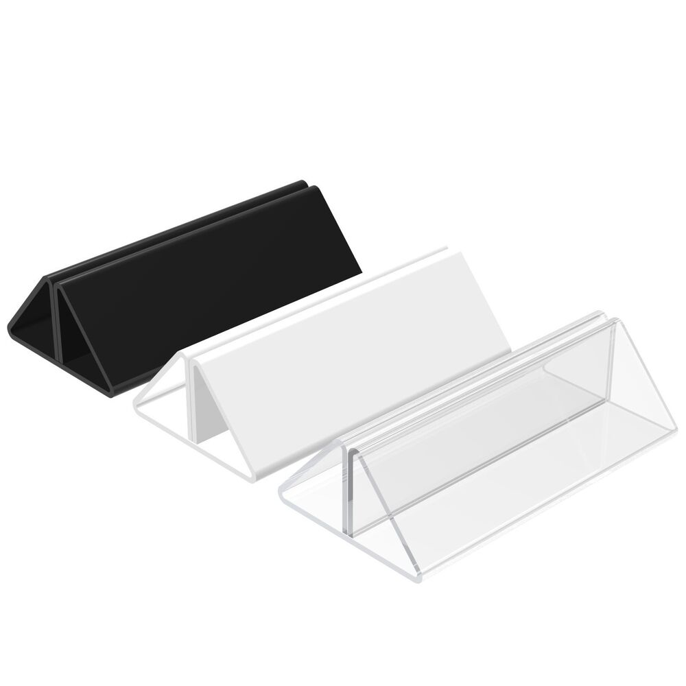 Menu showcard leaflet holders acrylic wedding table place for Place settings name card holders