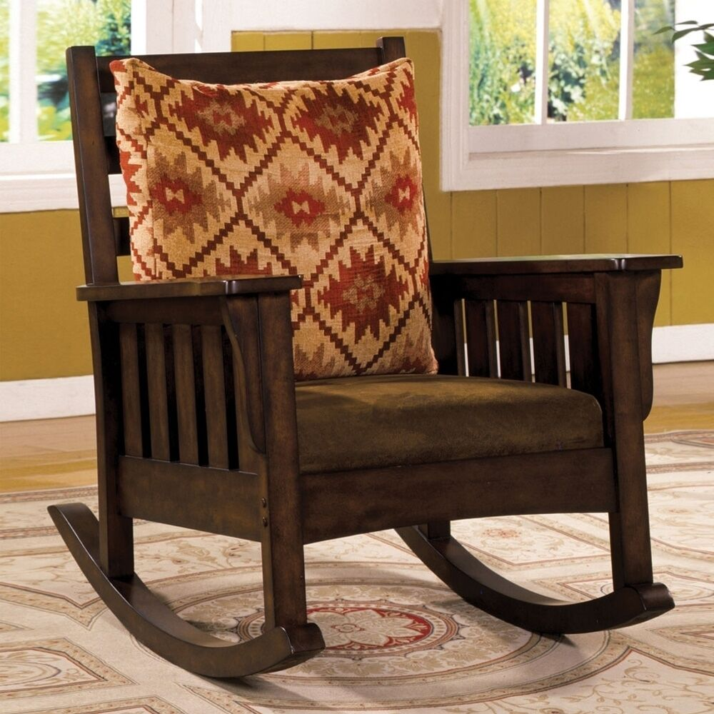 Morrisville Mission Rocker Rocking Chair Removable Fabric