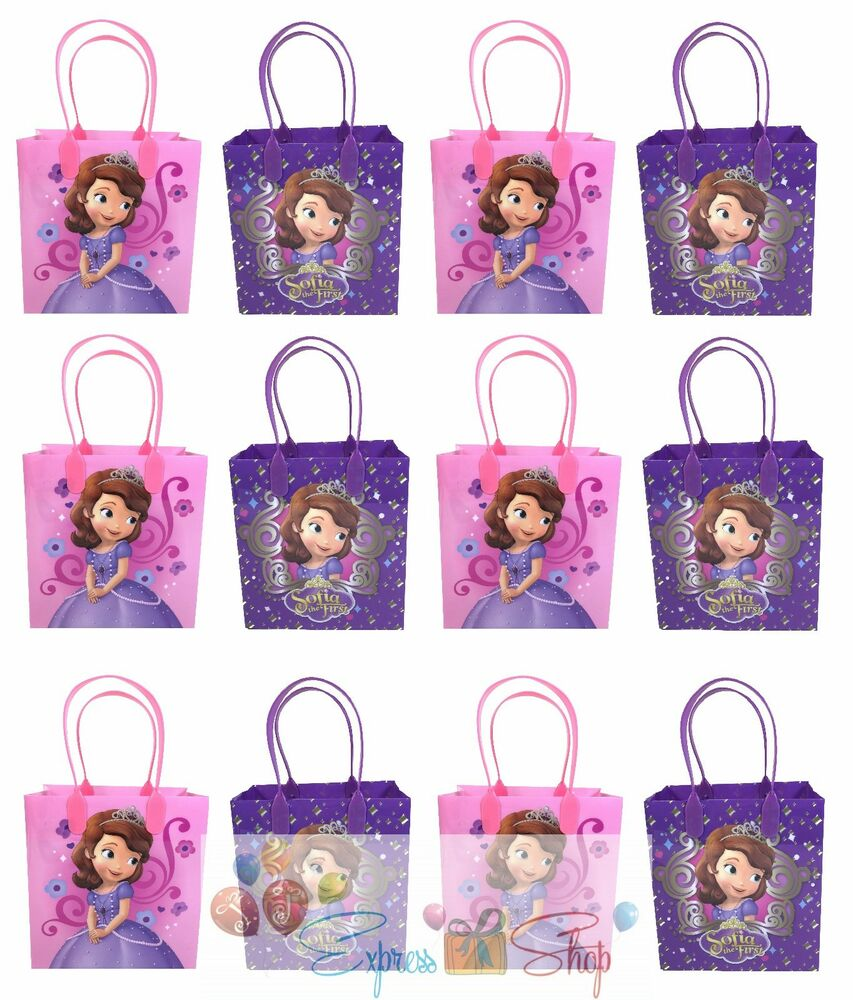 12x Disney Sofia The First Birthday Party Favor Goody Gift