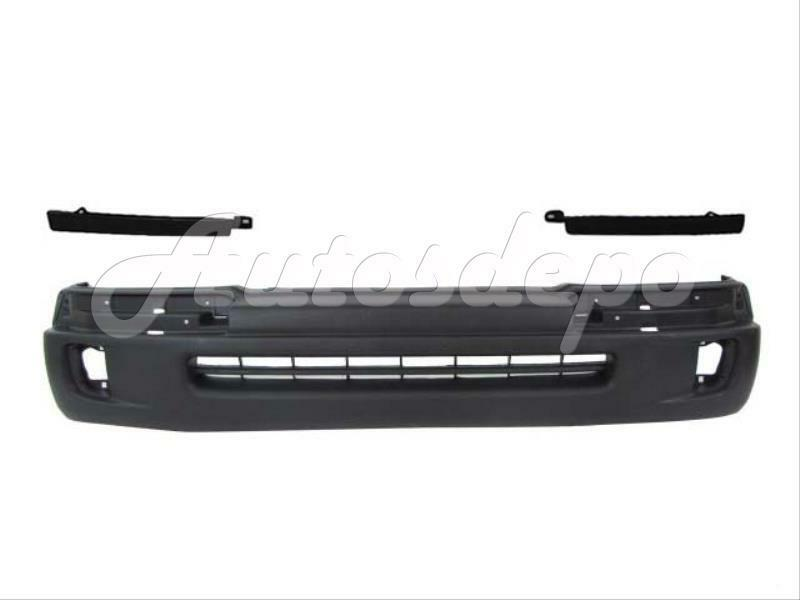 98 00 toyota tacoma 2wd w prerunner front bumper cover blk. Black Bedroom Furniture Sets. Home Design Ideas