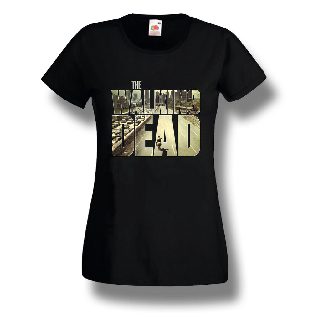 Daryl Dixon The Walking Dead T-Shirt Zombie TV Series ...