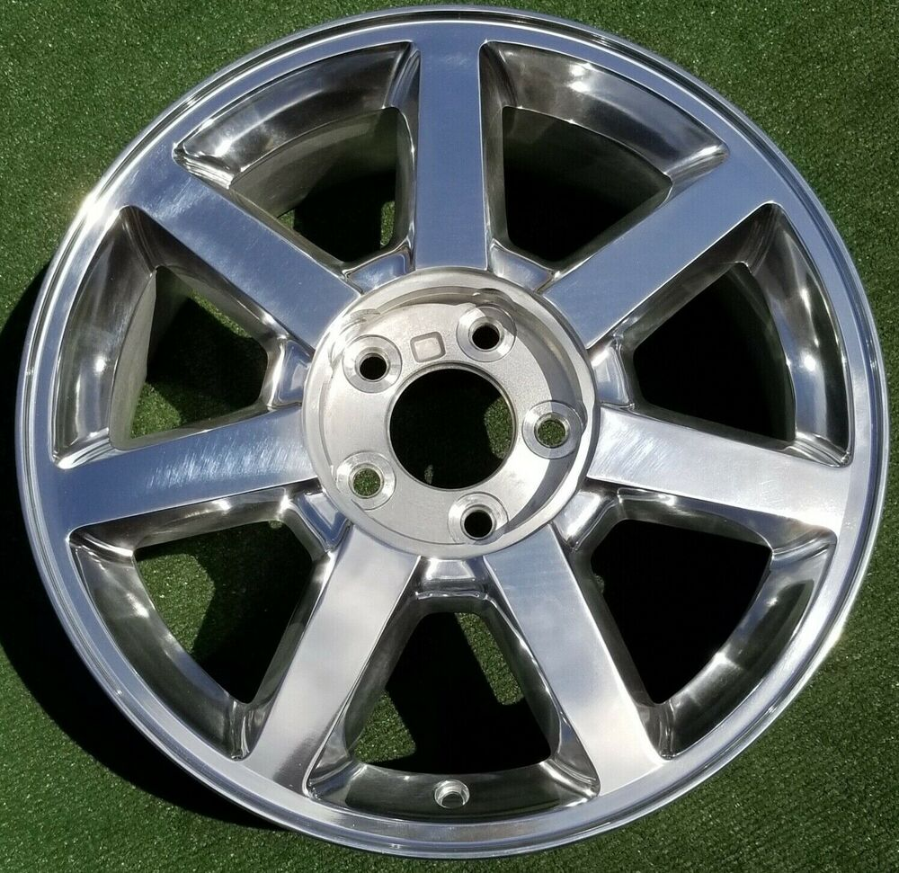 2005 To 2011 New Polished Cadillac Sts Cts 17 Inch Oem Gm