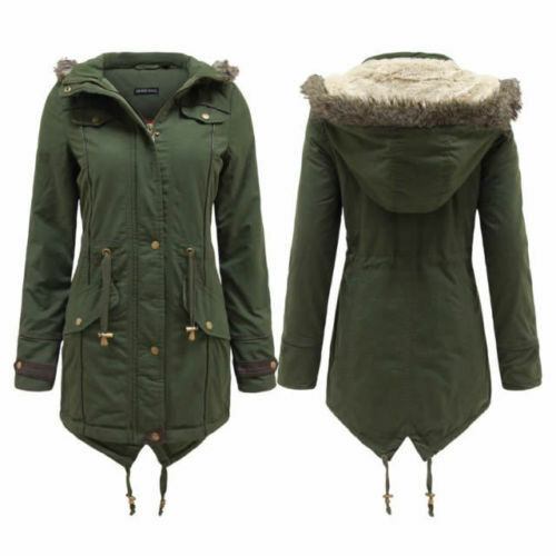 Images of Khaki Coat Womens - Reikian