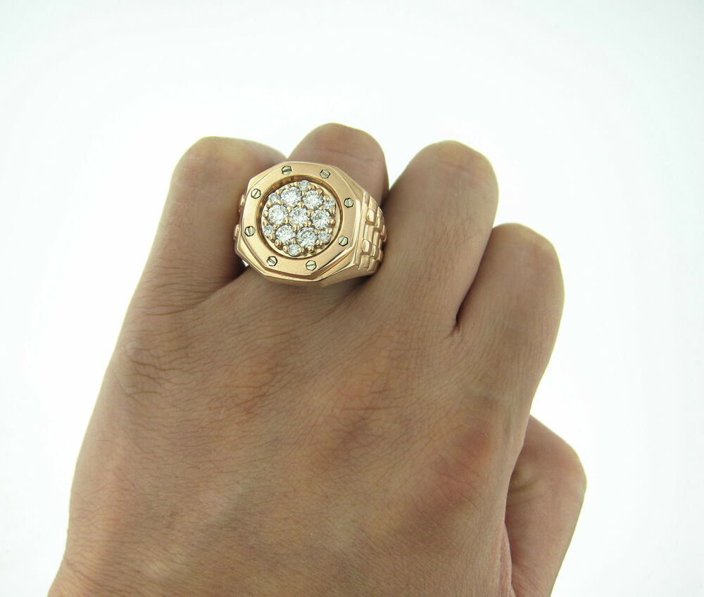 Ring For Men Black And Silver