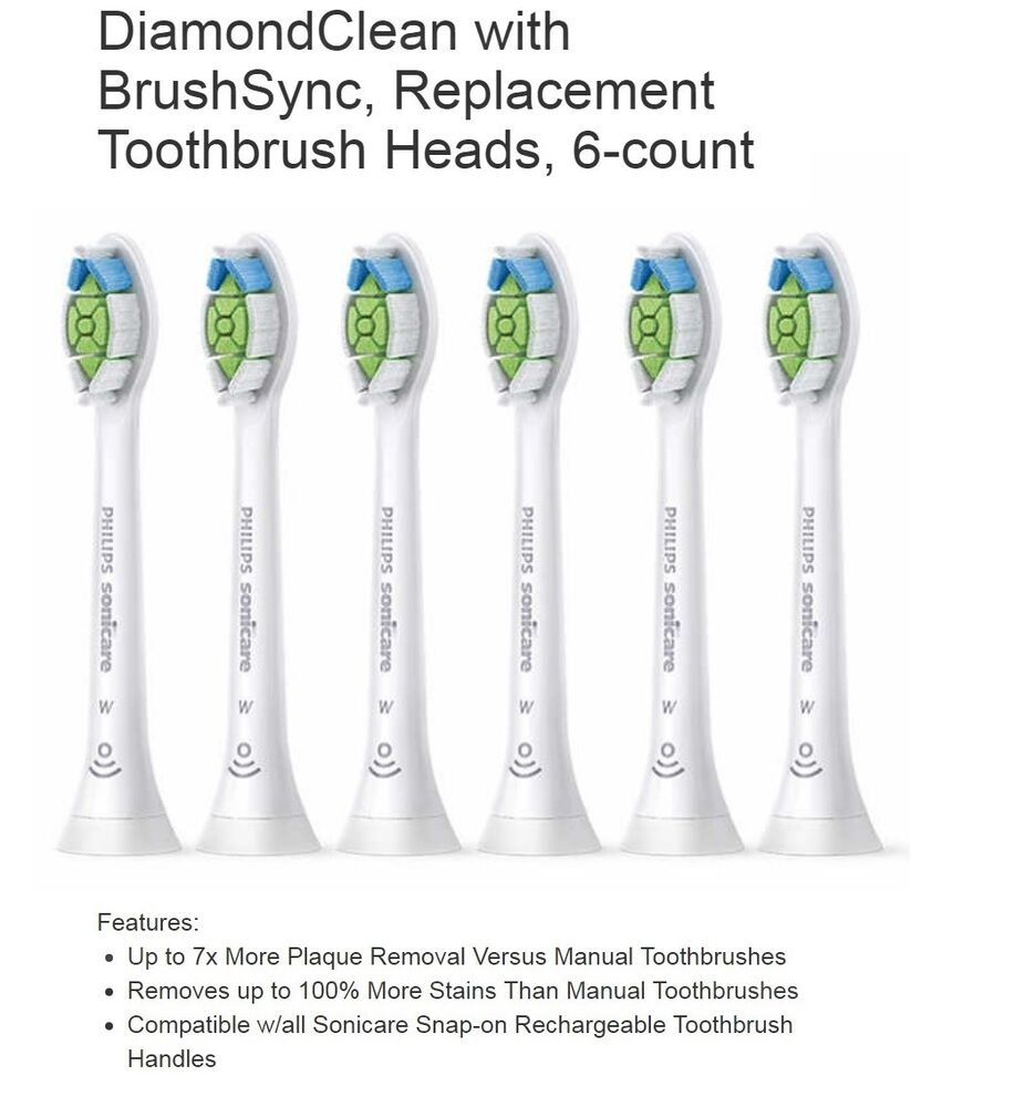 Shop for Philips Sonicare Toothbrush Replacement Heads in Oral Care. Buy products such as Philips Sonicare E-Series replacement toothbrush heads, White, 3-PK, HX/64 at Walmart and save.