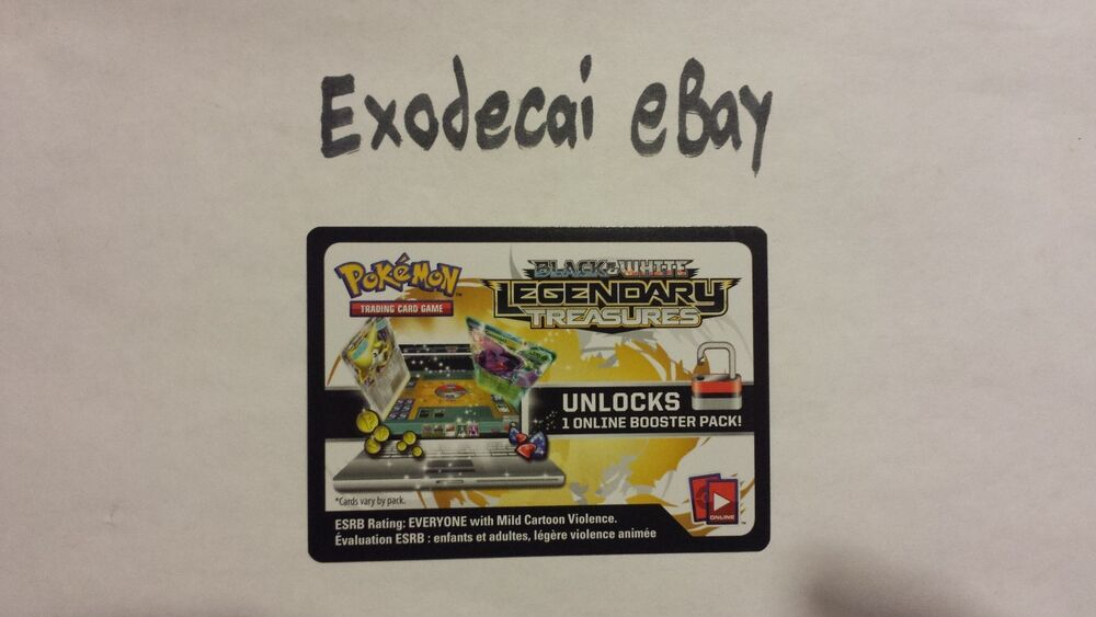 Pokemon trading card game online booster codes