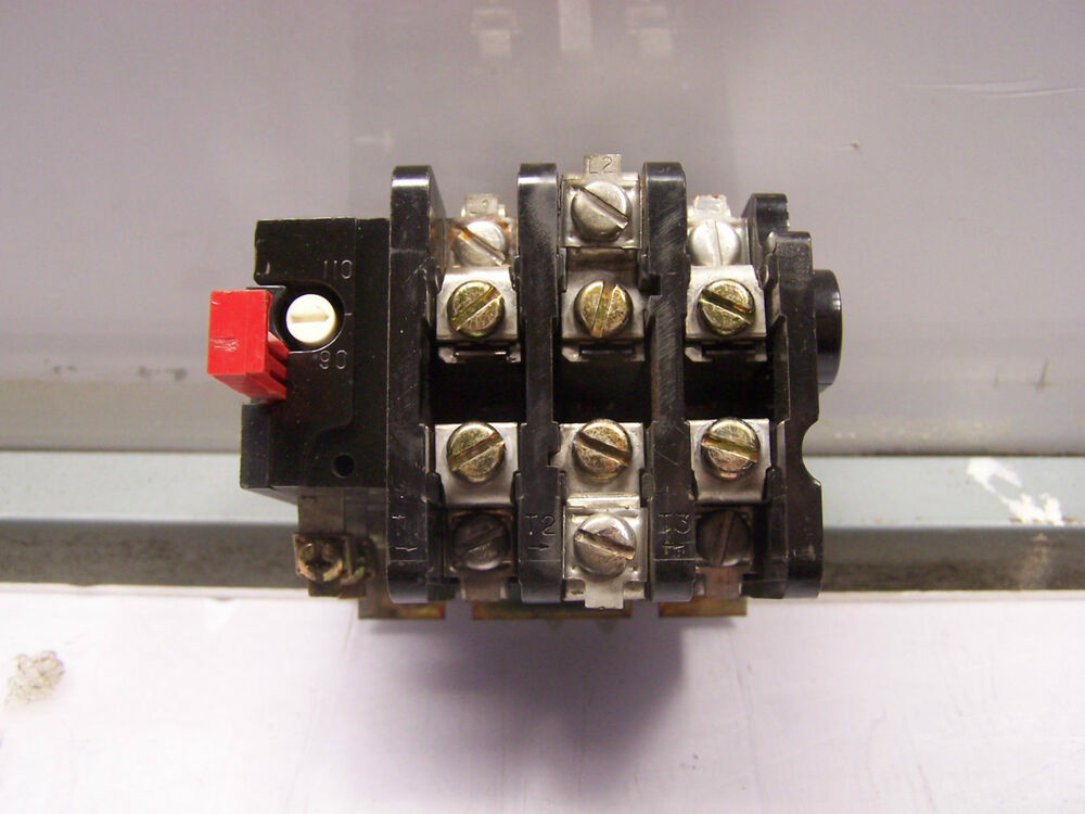 Ge general electric thermal overload relay 600 vac 27 amp for General electric ac motor thermally protected