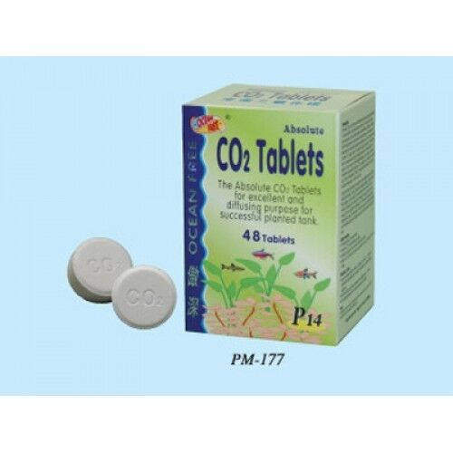 Ocean free absolute co2 aquarium plant tablets 48 ebay for Oxygen tablets for fish