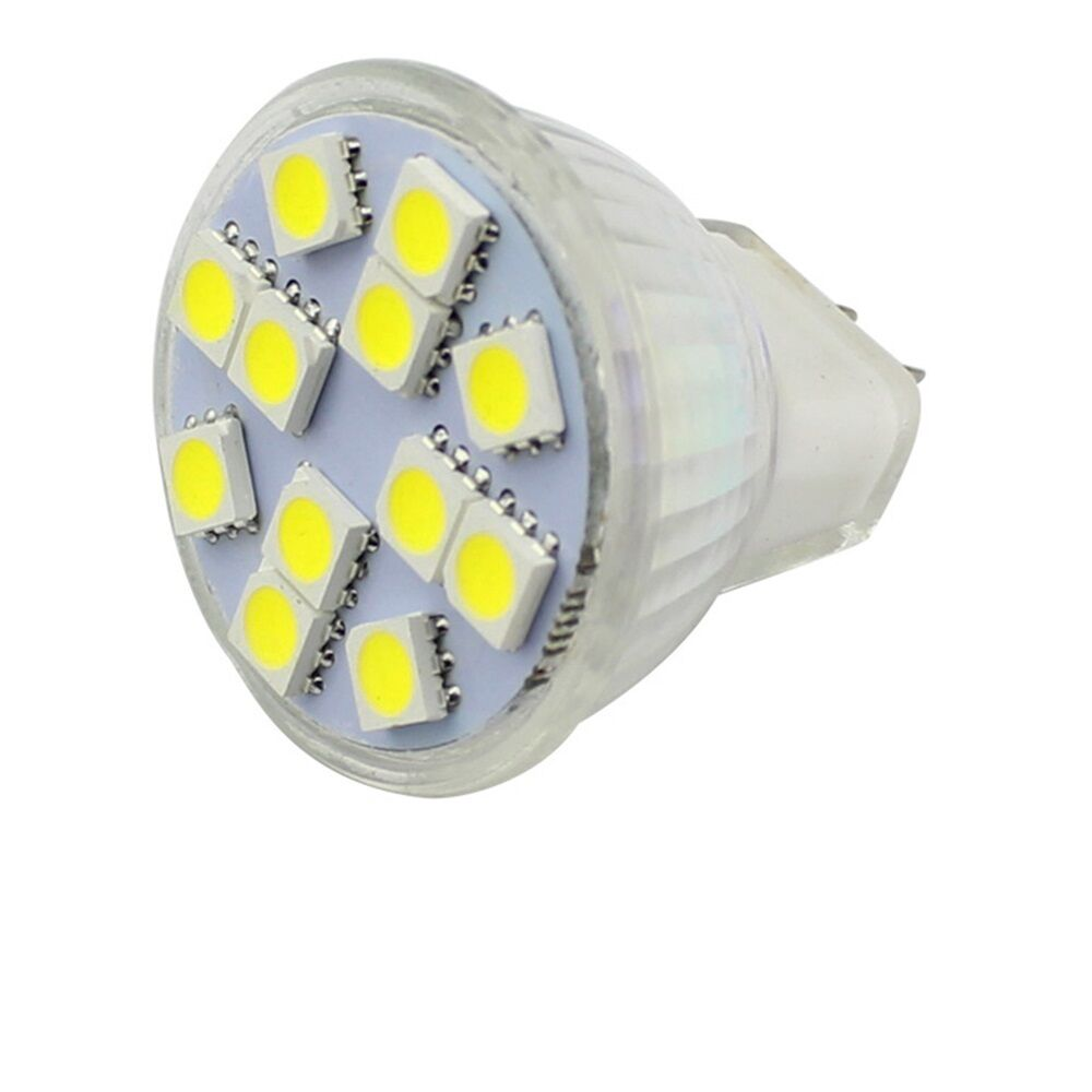 mr11 led gz4 2w 12 5050 smd spot light warm white lighting bulb lamp dc 12v 24v ebay. Black Bedroom Furniture Sets. Home Design Ideas