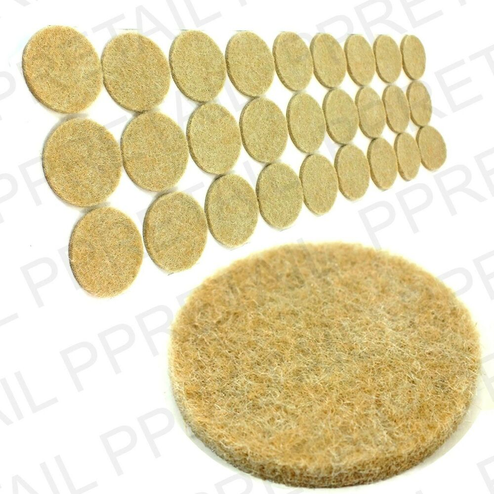 27 x EXTRA LARGE ROUND FELT PAD THICK BeigeBrown Wood  : s l1000 from www.ebay.co.uk size 1000 x 1000 jpeg 141kB