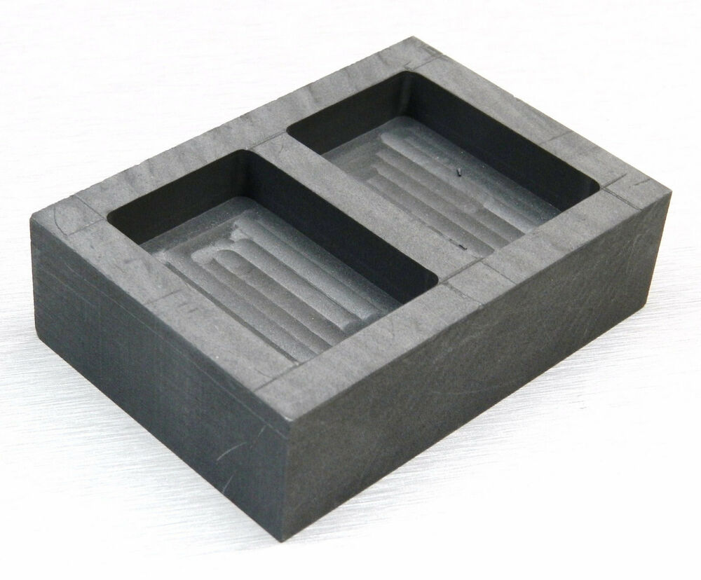 Graphite Ingot Mold Melt Amp Pour 5oz Gold Bars Amp 3oz Silver