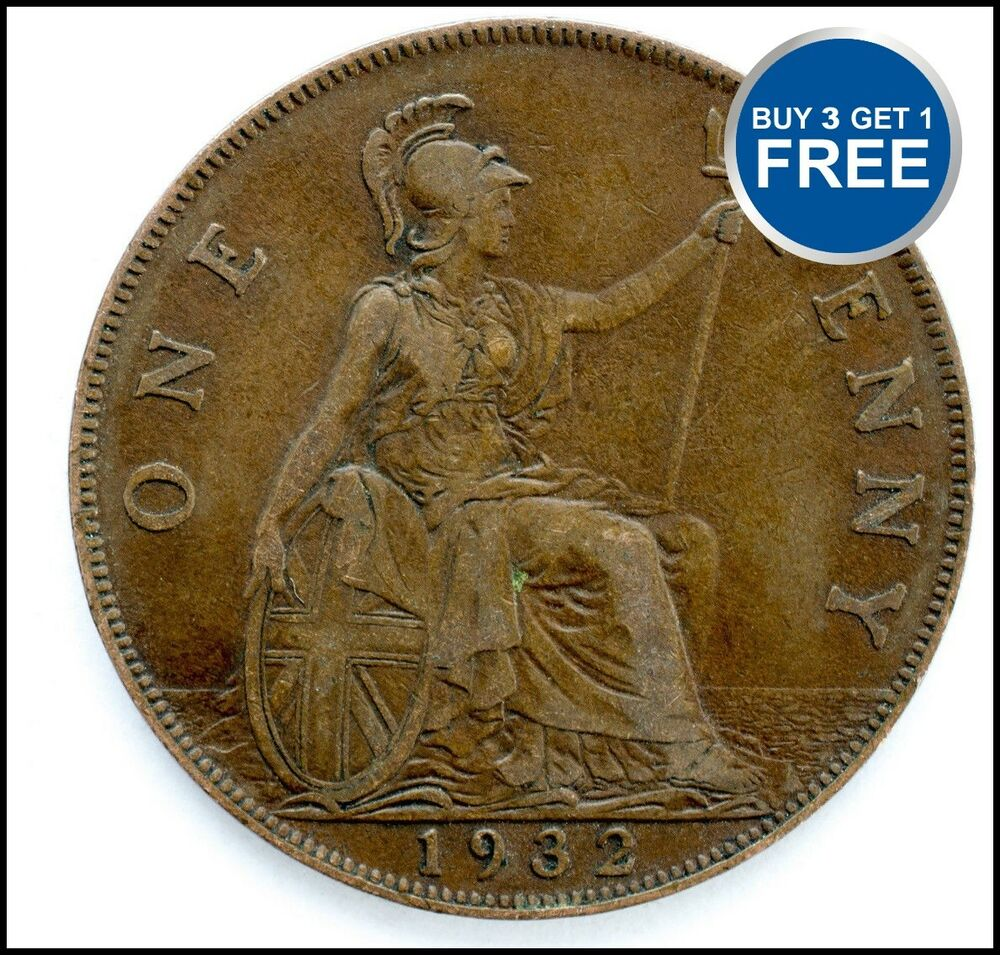 Ebay Co Uk: 1911 TO 1936 GEORGE V PENNY / PENNIES CHOICE OF YEAR