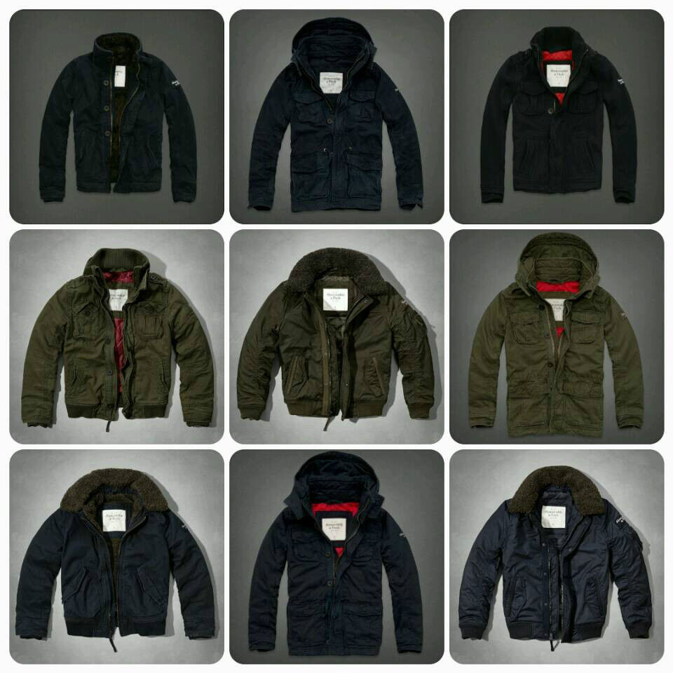 Abercrombie And Fitch Clothing Abercrombie And Fitch Hoodies Abercrombie And Fitch Jackets Abercrombie And Fitch Sweater: New Abercrombie & Fitch Men's Hoodie Outerwear Parka