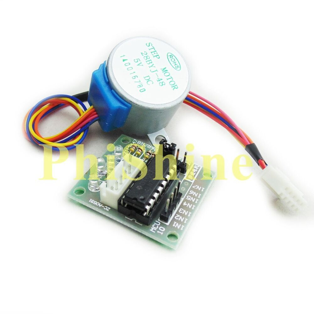 5v Uln2003 28byj 48 4 Phase Stepper Motor With Driver