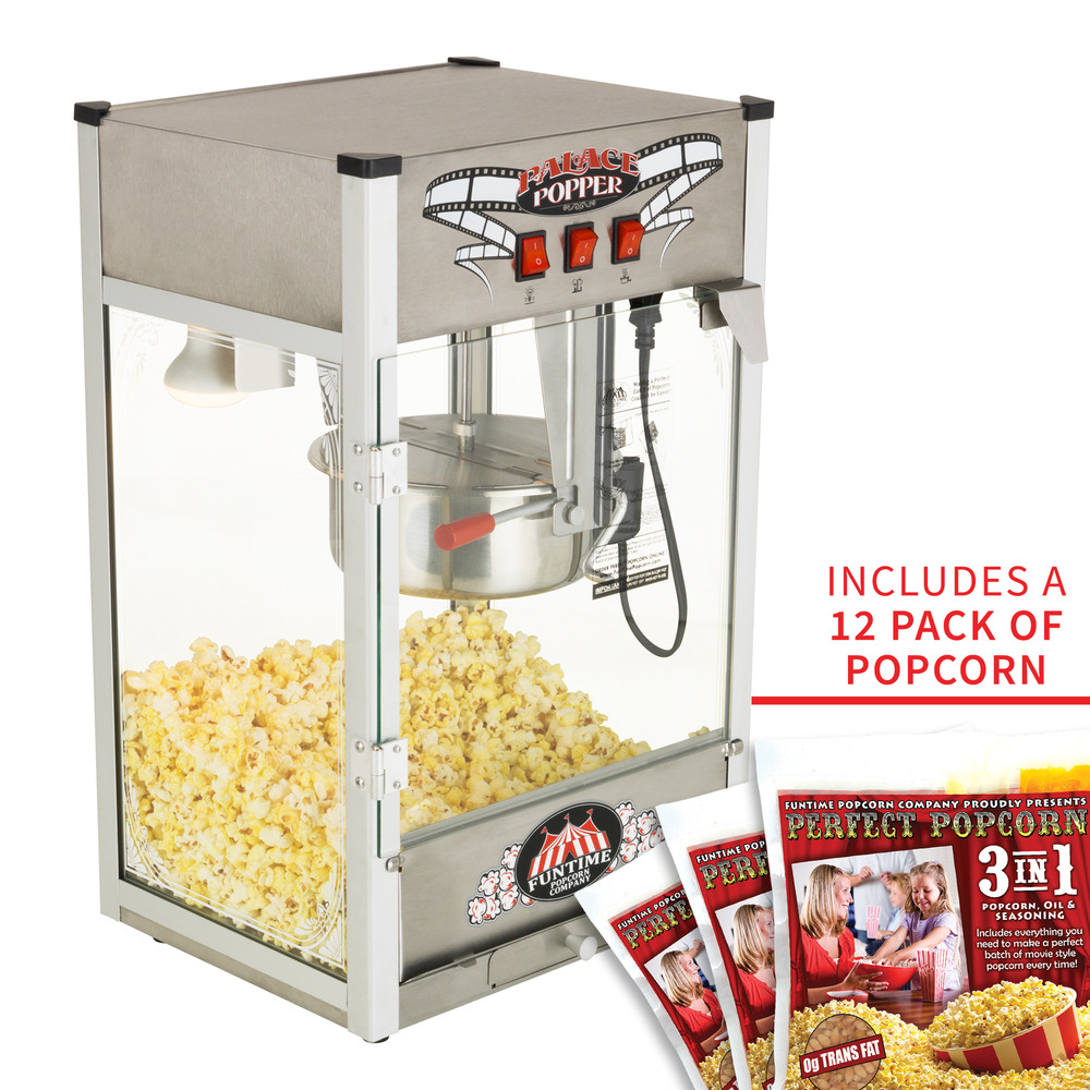 funtime palace popper 8 oz commercial bar style popcorn popper machine ft824pp ebay. Black Bedroom Furniture Sets. Home Design Ideas