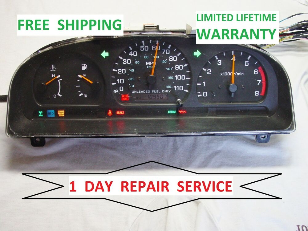 s l1000 repair service nissan frontier 1998 1999 2000 speedometer 2000 Nissan Frontier King Cab at webbmarketing.co