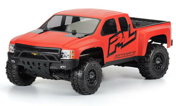 Pro-Line Chevy Silverado HD Short-Course Truck Body For