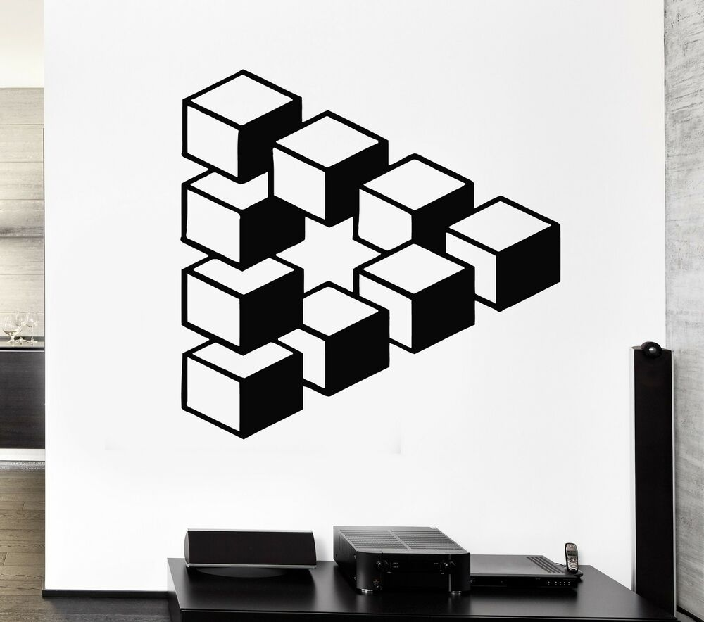 Wall stickers decal decor modern art living room style - Family room wall decor ...