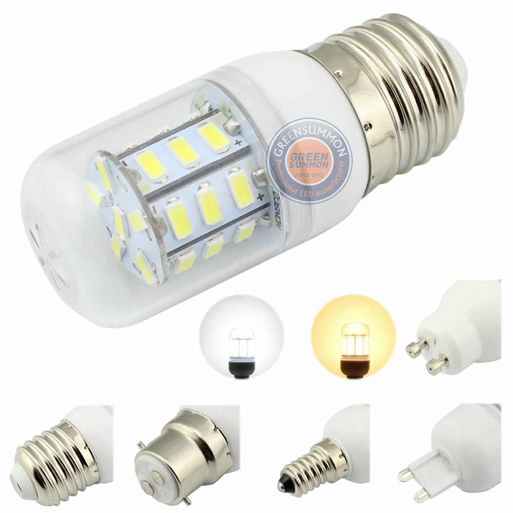 4w 12v 24v led e12 e14 e26 e27 b22 g9 gu10 27 5730 smd warm white light bulb ebay. Black Bedroom Furniture Sets. Home Design Ideas