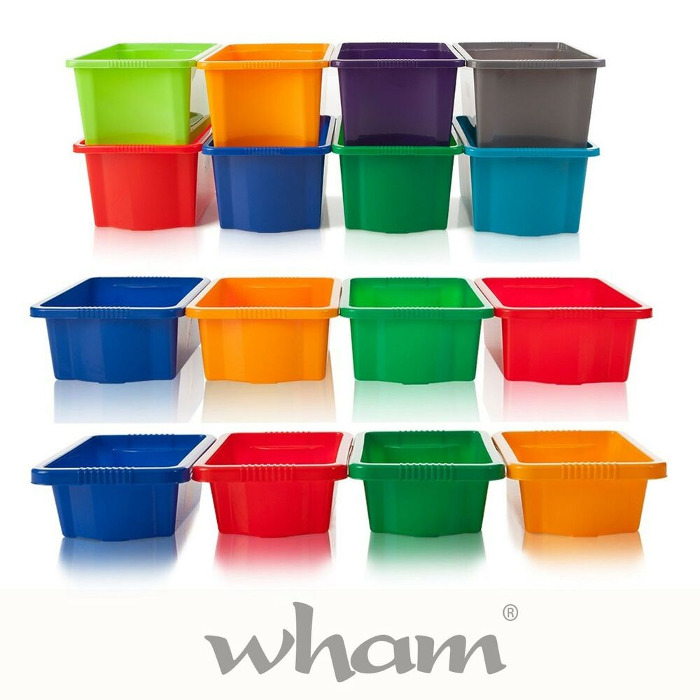 New wham stackable strong storage boxes for toys craft for How strong is acrylic glass