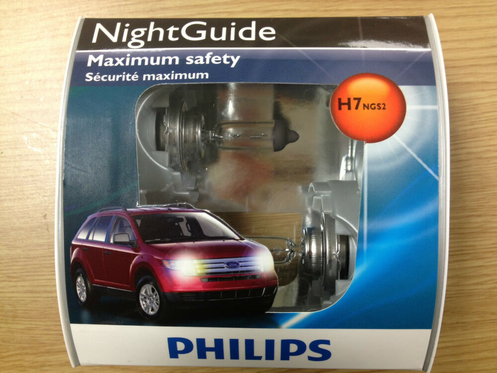 philips h7 nightguide headlight bulb 12972ngs2 pack of 2. Black Bedroom Furniture Sets. Home Design Ideas