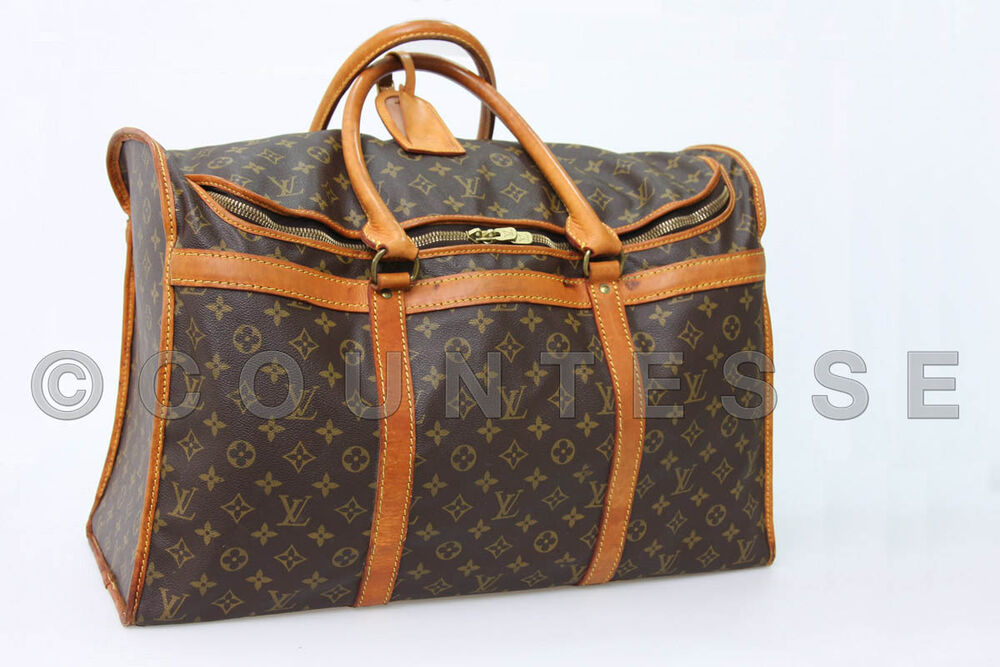 authentic louis vuitton big shoes travel bag suitcase ebay