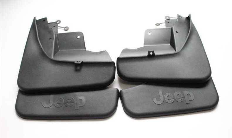 4pcs Black Mud Flaps Splash Guard Fender For Jeep Grand