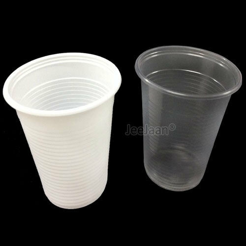 7oz Plastic Cups Disposable Vending Style Water Cooler