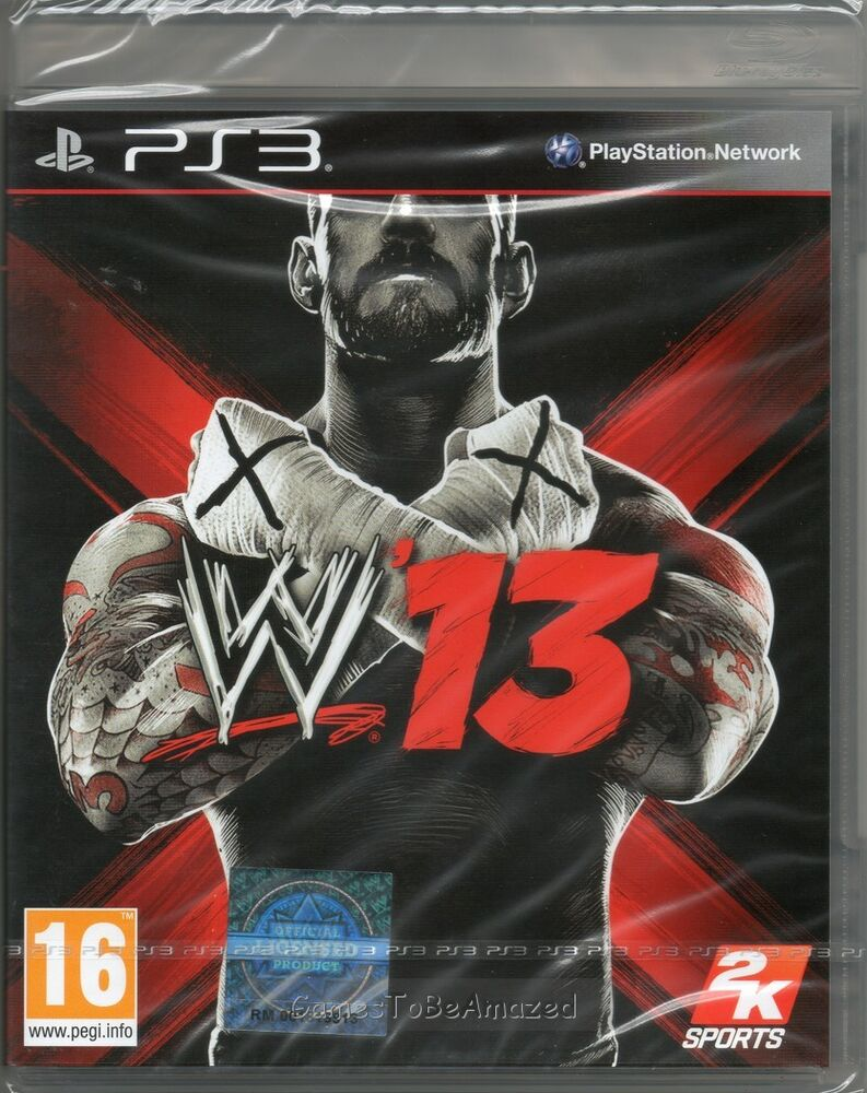 New Wrestling Game For Ps3 : Wwe wrestling game ps  new sealed ebay