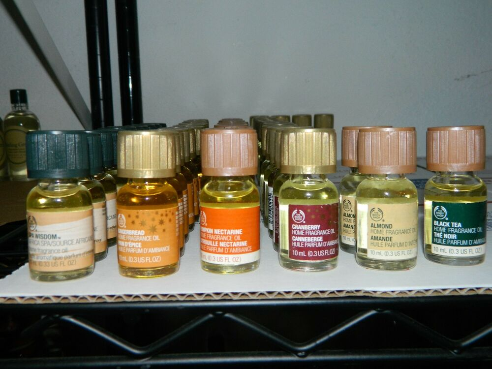 The body shop home fragrance oil u choose 0 3 oz 10 for Best scented oils for home