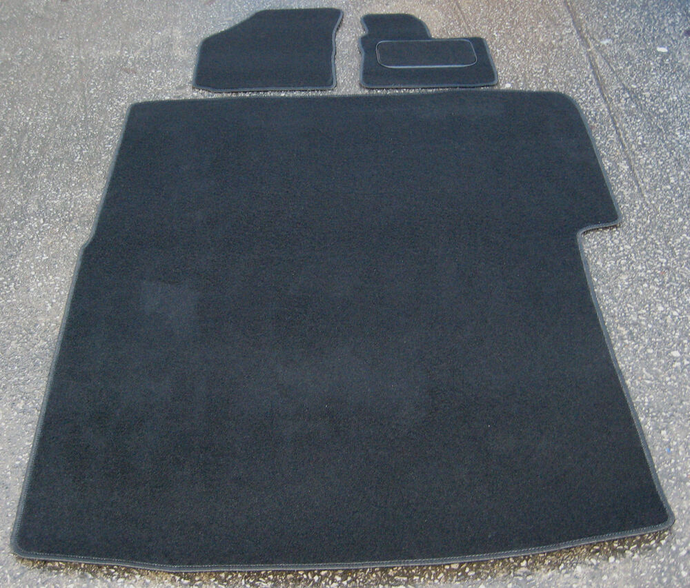 Car Mats In Black To Fit Vw Caddy Van 06 On Rear