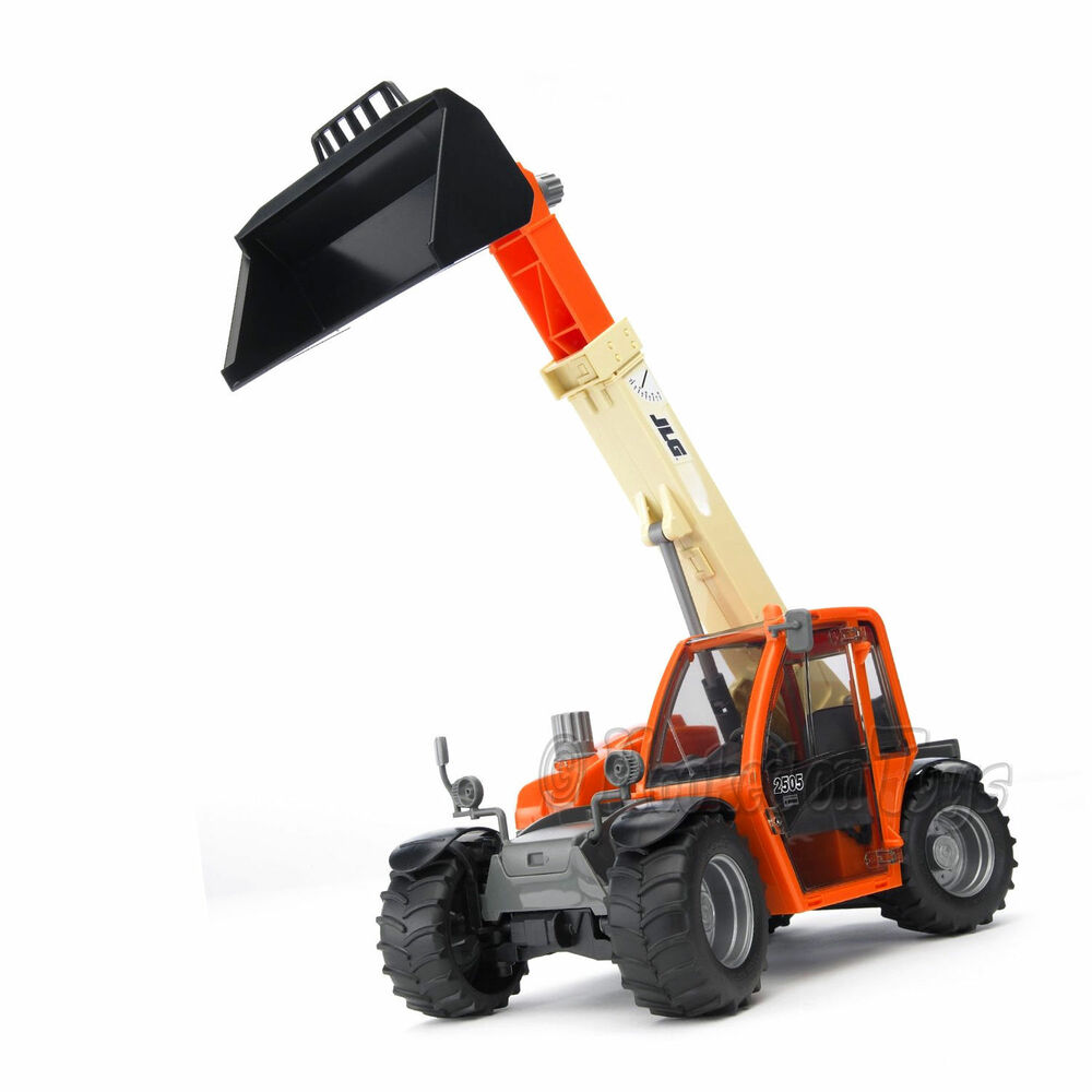 Bruder Construction Toys : Bruder jlg telehandler construction toy truck