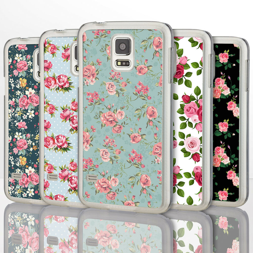 Vintage shabby chic floral rose phone cases for samsung for Case shabby chic country