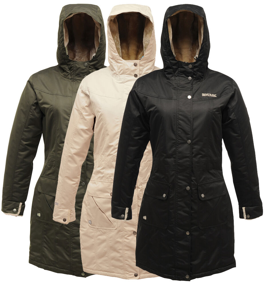 Regatta Nightsky Ladies Parka Jacket Womens Insulated Breathable