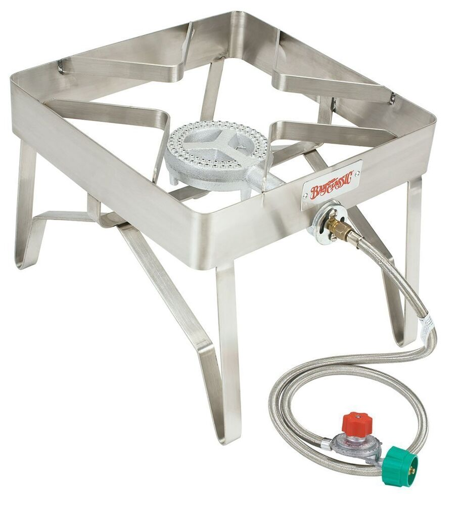 Bayou Classic 1114 Outdoor Stainless Patio Stove Propane ...