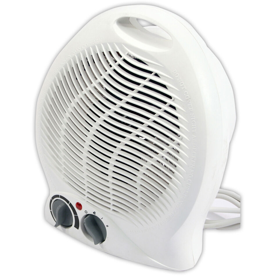 Portable Fan Heaters For Home : W portable silent electric fan heater hot cool air