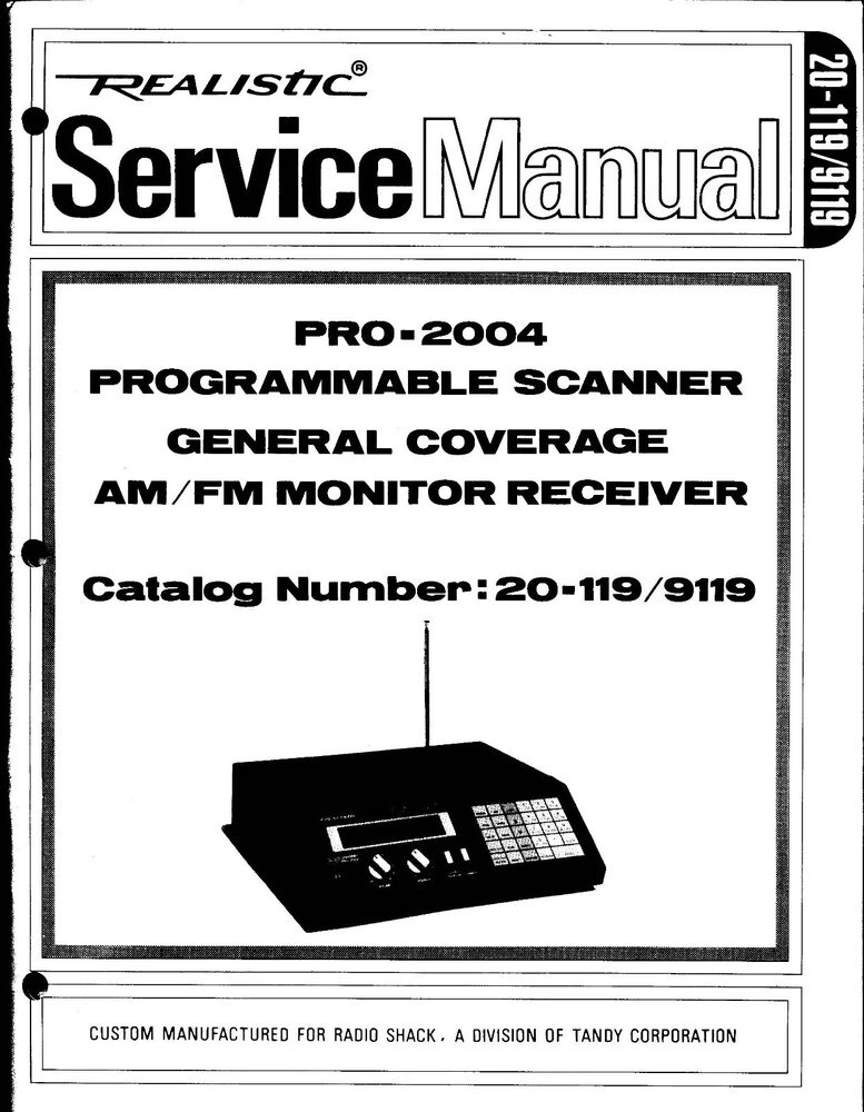 Pro 136 owners manual