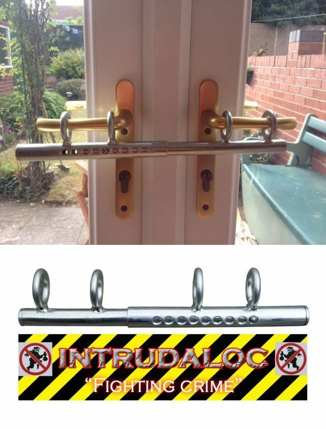 Patio Double French Door Sliding Deadlock Bolt Intruder
