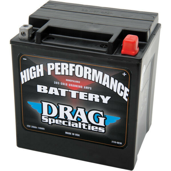 drag specialties agm battery 1997 2006 harley electra. Black Bedroom Furniture Sets. Home Design Ideas