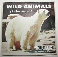 Viewmaster Wild Animals of the World