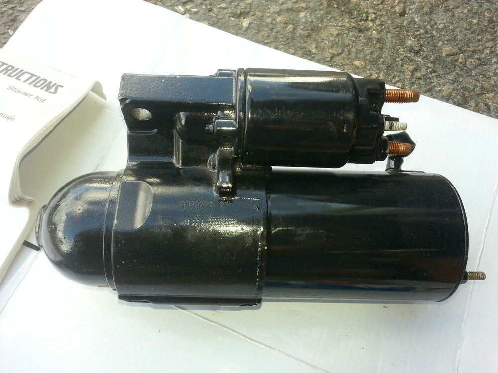 volvo penta starter motor 3862308 oem ebay. Black Bedroom Furniture Sets. Home Design Ideas