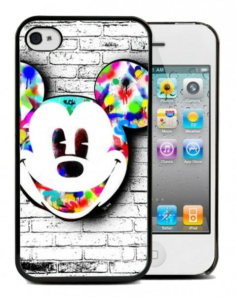 coque bumper iphone 4 4s 5s 6 mickey mouse disney. Black Bedroom Furniture Sets. Home Design Ideas
