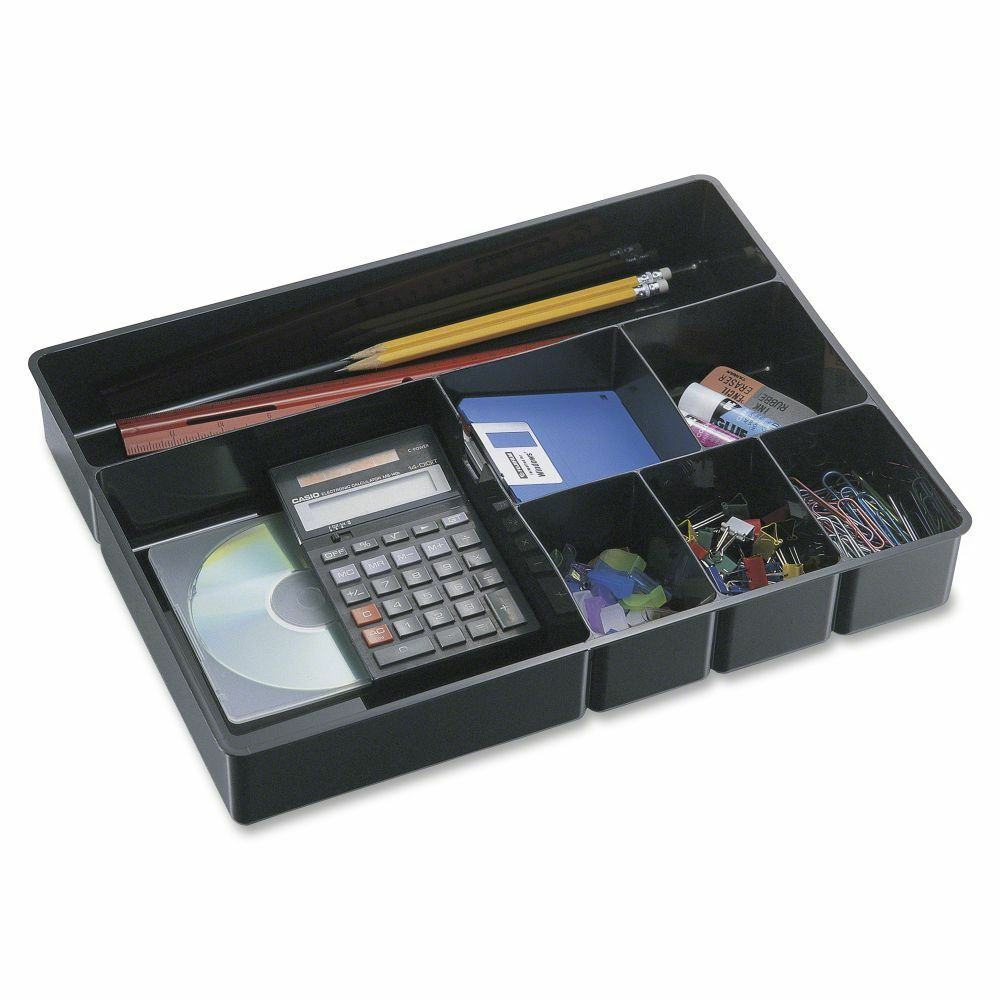 Officemate deep desk drawer organizer tray oic21322 ebay - Desk drawer organizer trays ...