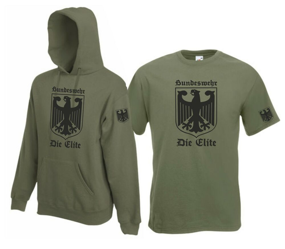 bundeswehr wehrmacht deutschland t shirt elite shirt. Black Bedroom Furniture Sets. Home Design Ideas