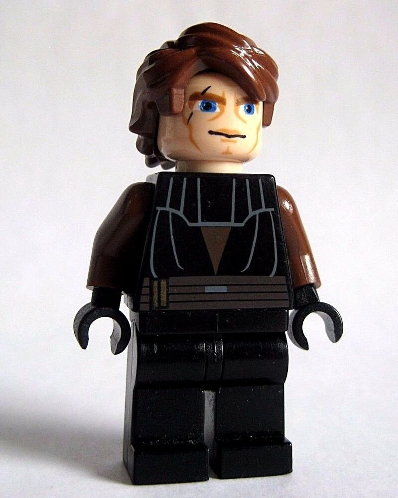 Lego star wars anakin skywalker minifigure 7675 clone wars 7931 9515 8098 7680 ebay - Vaisseau star wars anakin ...