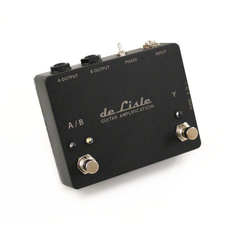 De Lisle Ab Y Aby Amp Switch Splitter Selector Pedal