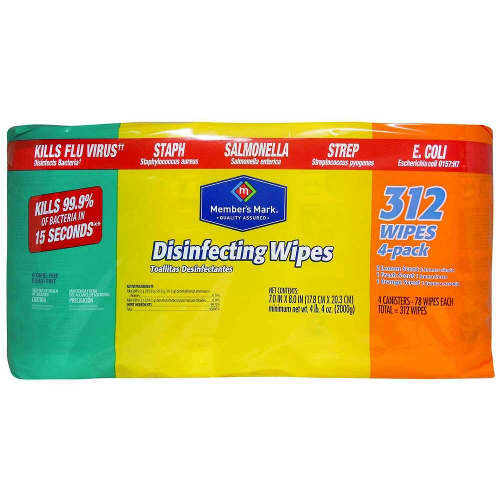 Members Mark Disinfecting Wet Wipes Variety Pack