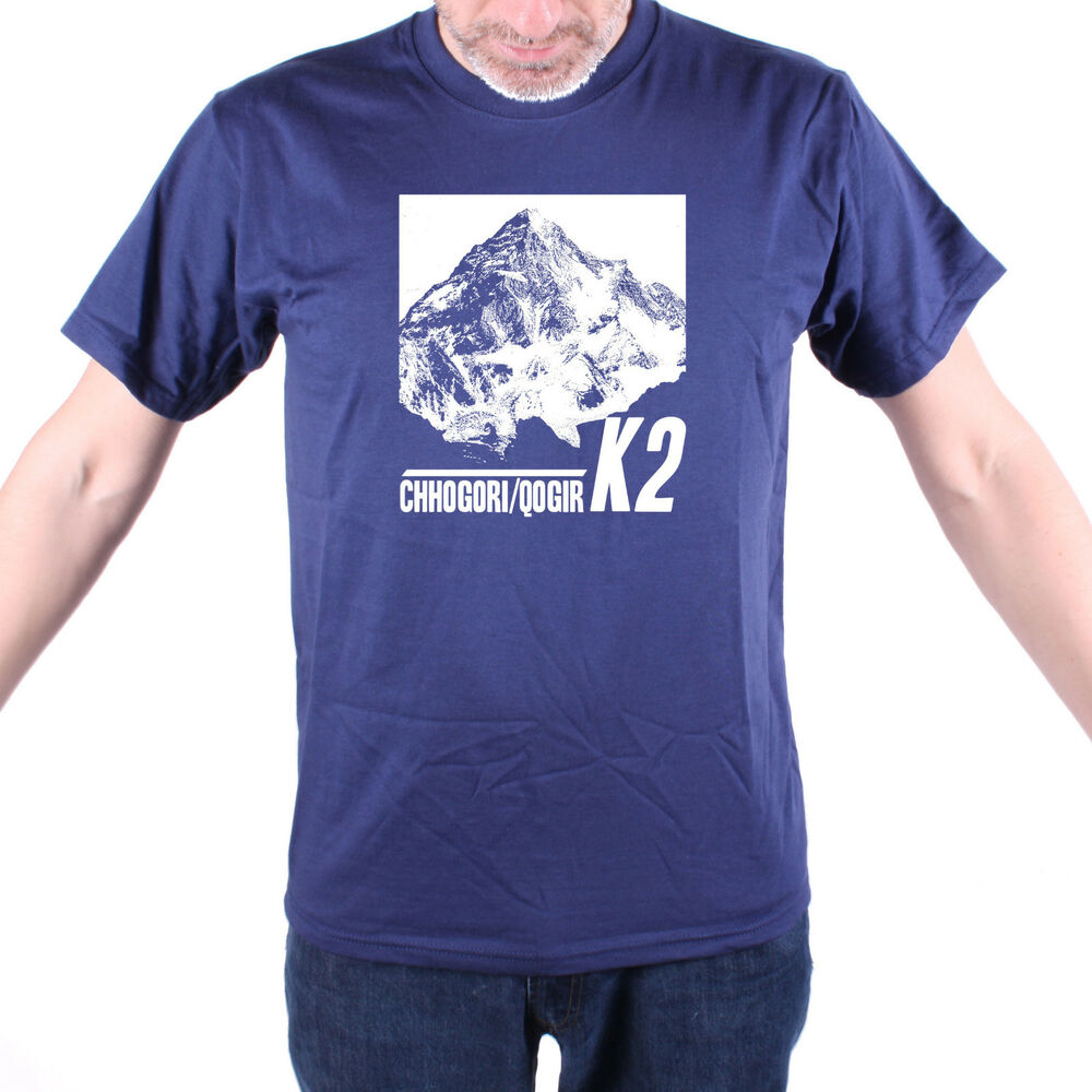 K2 t shirt classic mountaineering shirt old skool original for Original t shirt designs