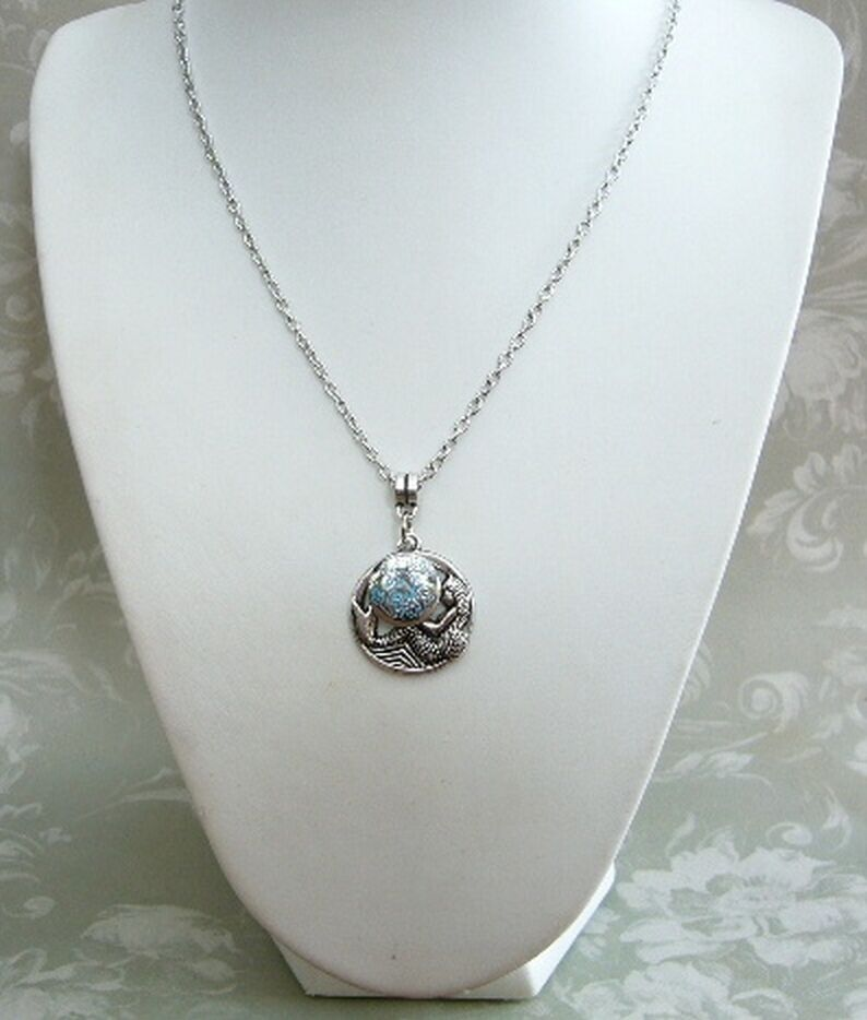 H20 Just Add Water Inspired Mermaid Charm Locket Necklace ...